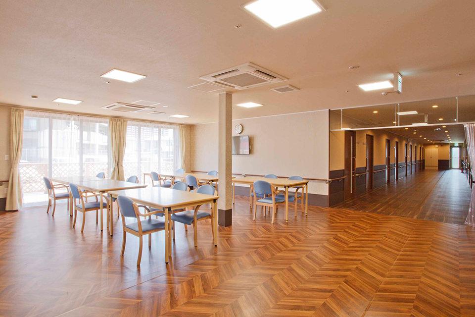 1階 食堂フロア